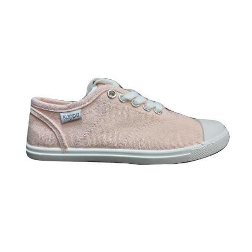 Zapatillas Niña Lona Kappa Keysy Kid Lace. Pink. 3032GZ0.