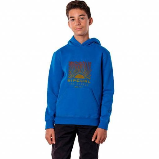 Rip Curl Solar Hood Boy. Electric Blue. KFEHJ4