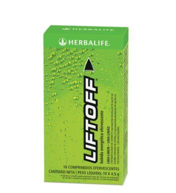 Liftoff Herbalife Bebida energética. Lima-limón.