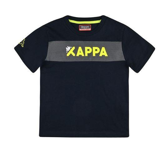 Camiseta Kappa Logo Ancas. Manga corta niño.