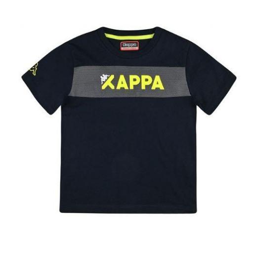 Camiseta Kappa Logo Ancas. Manga corta niño.  [0]