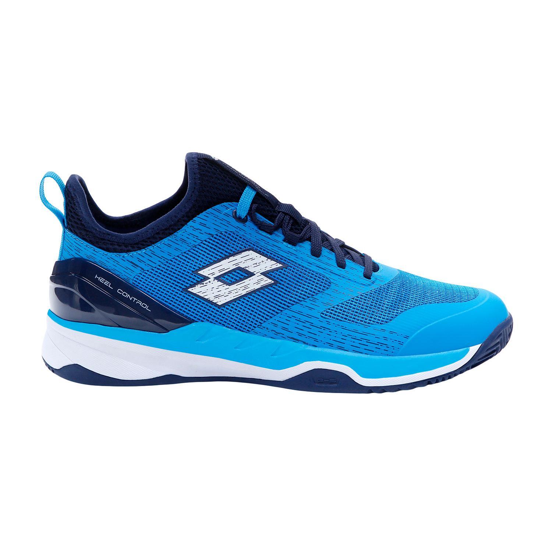 Zapatillas pádel Lotto Mirage 200 Clay. Diva Blue/All White/Navy Blue