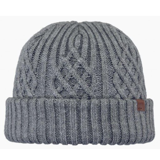 Gorro Hombre BARTS Mallard. Heather Grey