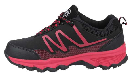 Zapatilla Trekking niño J´HAYBER MITONO. ZN452315. Black/red. [1]