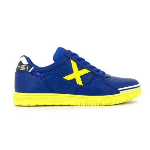 MUNICH G-3 Kid Profit 208. 1511208. Azul/amarillo