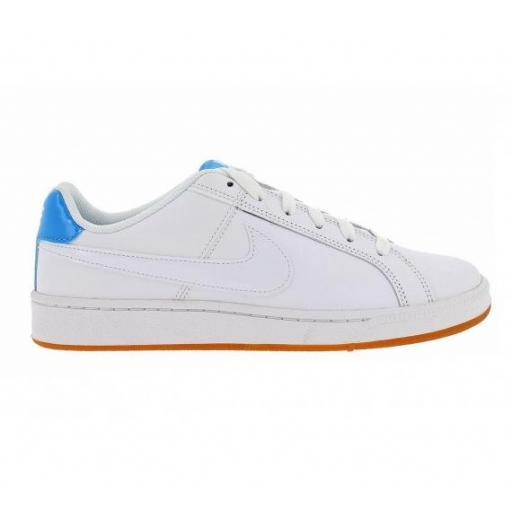 Zapatilla moda WMNS Nike Court Royale. 749867 118. White/blue