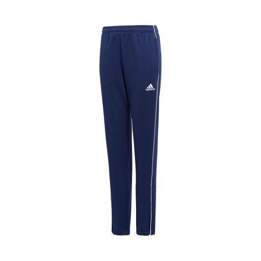 Pantalón largo Adidas Core18 TR PNT Y. CV3994. Blue/white.