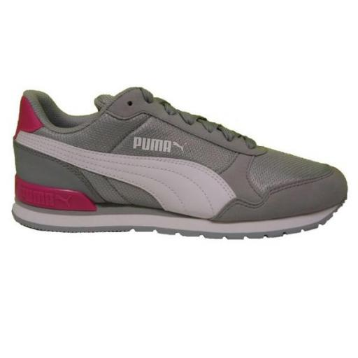 Puma ST Runner V2 Mesh JR. white-fuchsia purple. 367135 18.