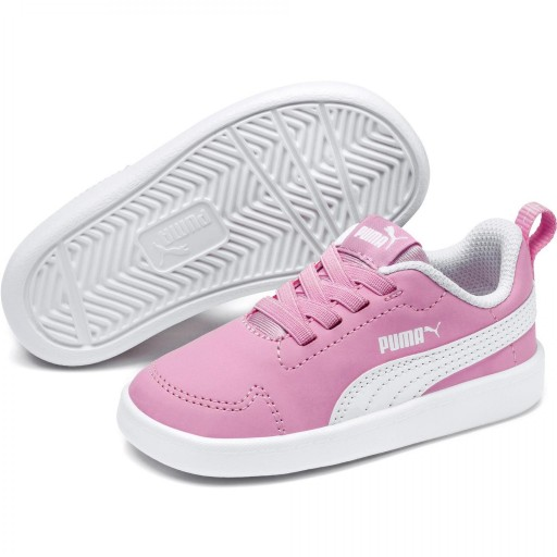 Zapatillas Moda Niña PUMA COURTFLEX PS. 362650 Pink/white. [1]