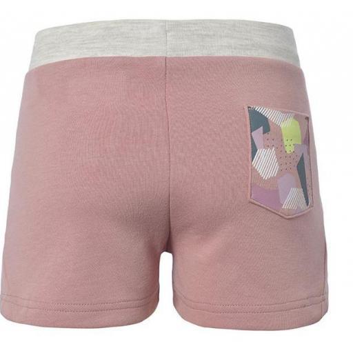 Pantalones Shorts Niña Kappa Qualix. 311246W. Pink-white-green. [1]