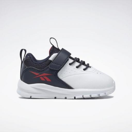 Reebok Rush Runner 4.0 SY. Infantil. G57429. White/blue.