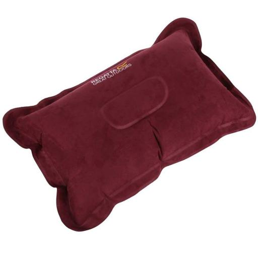 Almohada Regatta Inflatable Pillow.RCE230. Burgundy
