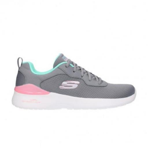 SKECHERS Skech-Air Dynamight-Radiant Choice. 149346/GYMN. Gray/mint.