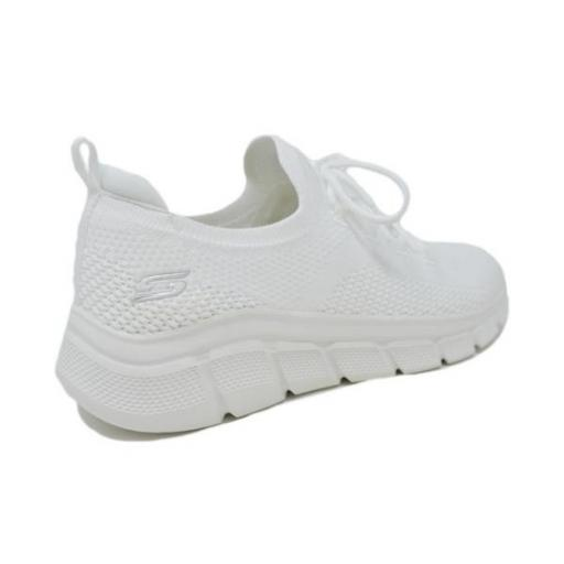 Skechers Bobs B Flex - Color Connect. White. 117121/WHT. [3]