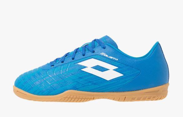 Zapatillas Fútbol Sala Junior LOTTO Solista 700 III ID JR. 211643 Blue/white.