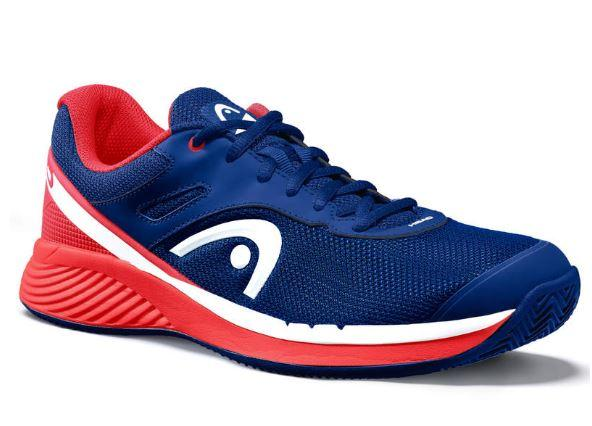 Zapatilla Pádel Head Sprint Evo 2.0 Clay Men. 273700. Red/dark blue