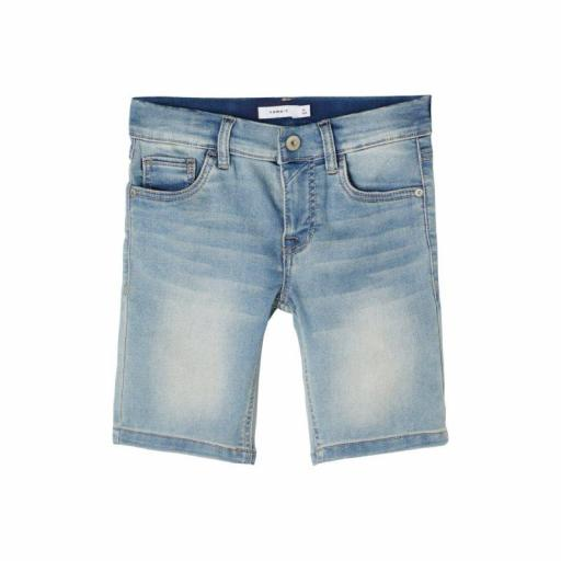 NAME IT PANTALONES CORTOS VAQUEROS. 13190257 Light Blue Denim.