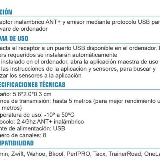 USB ANT+ STICK. A20. WALIO [1]