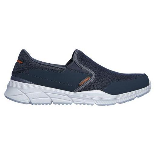 Skechers Equializer 4.0- PERSISTING. Char/orange. 232017/CCOR