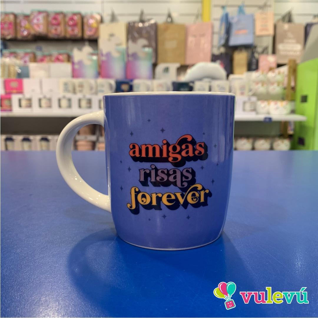 "Taza"" Amigas Risas for ever"""