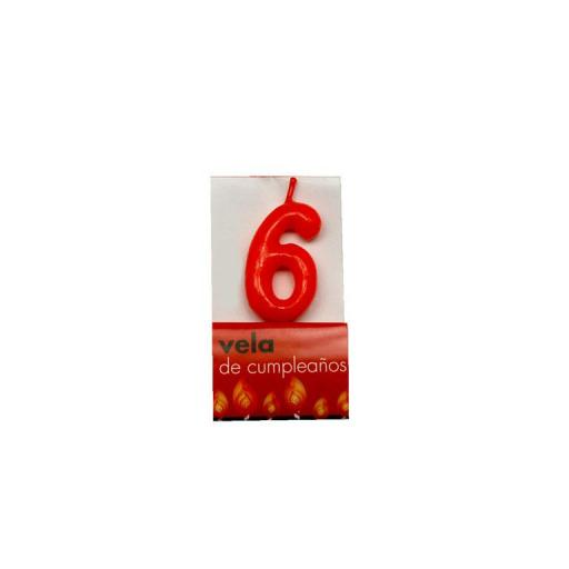Vela roja nº6 [0]