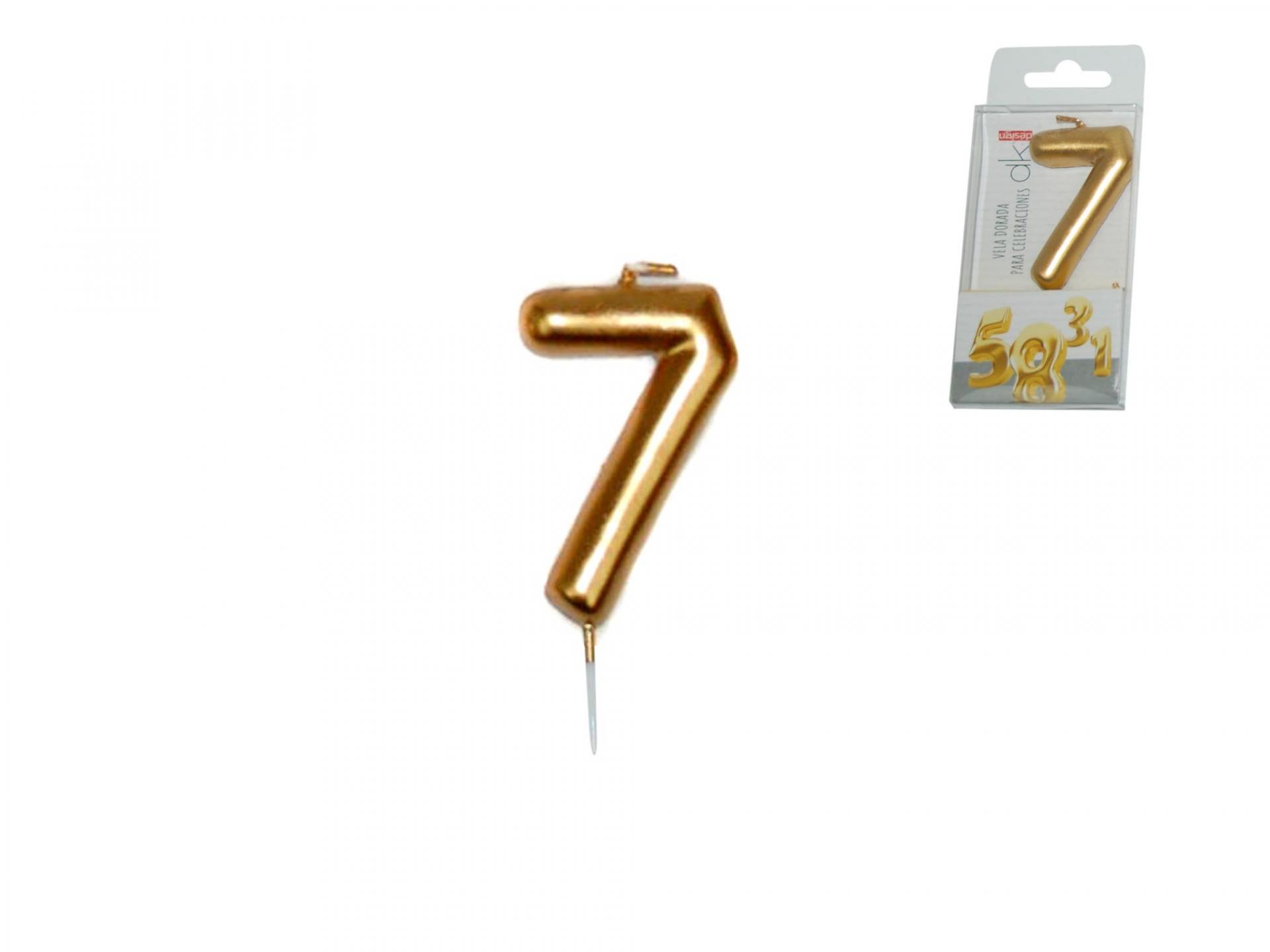 Vela dorada nº7