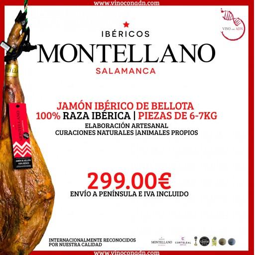 JAMÓN IBÉRICO DE BELLOTA  6 a 7 Kg