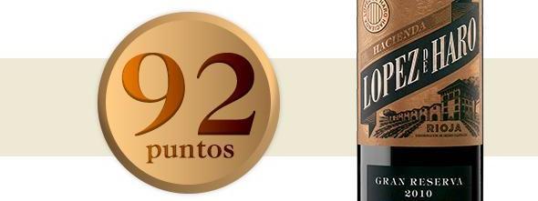 López de Haro Gran Reserva,  92 puntos en Wine & Spirits... ¡otra vez!