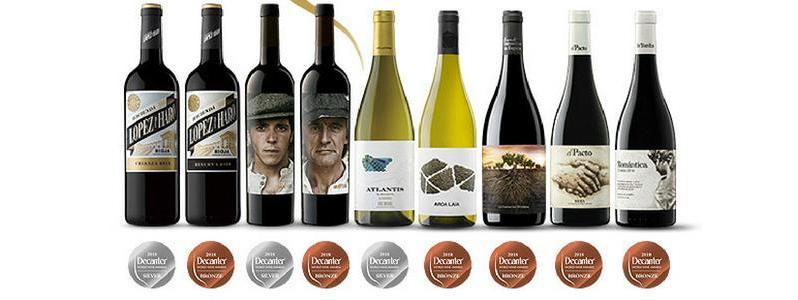 Nueve medallas para Vintae en los prestigiosos Decanter World Wine Awards