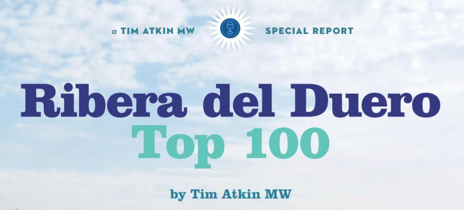 Top 100 Ribera del Duero por Tim Atkin MW