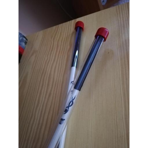 Varilla  VENTURELLI, Blanco, de fibra con puño y funda (56 cm y 59 cm) [1]