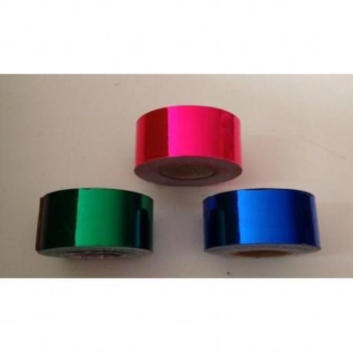 Cinta adhesiva Rosa Metalizado,  25mm [1]