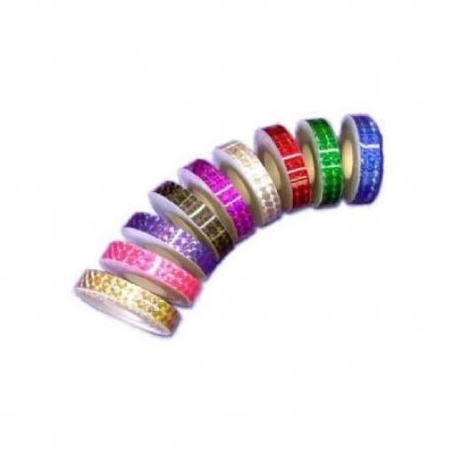 Cinta adhesiva 13mm, Oro [1]
