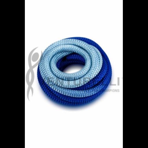Cuerda VENTURELLI, Degradada Azul-Turquesa [1]