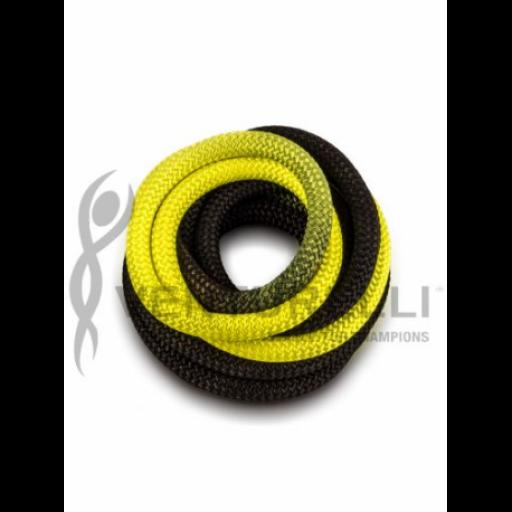 Cuerda VENTURELLI, Degradada Negro-Amarillo [1]