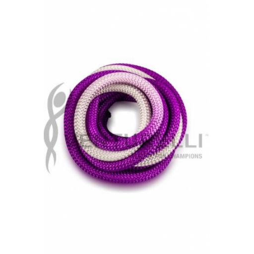 Cuerda VENTURELLI Degradada Púrpura Blanco [1]