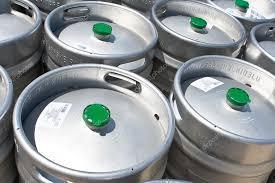 Barriles de cerveza Mahou