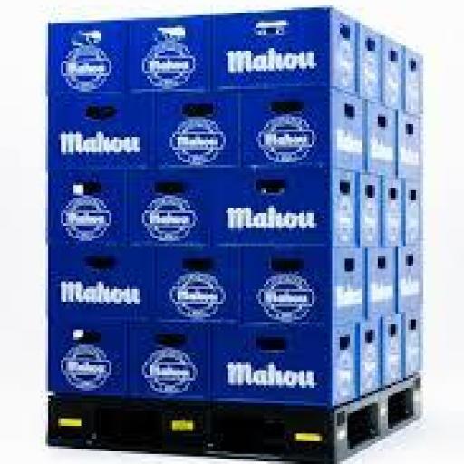 Caja tercios de cerveza Mahou 24 unidades