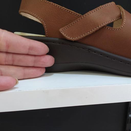 Sandalia plantillas marrón [3]