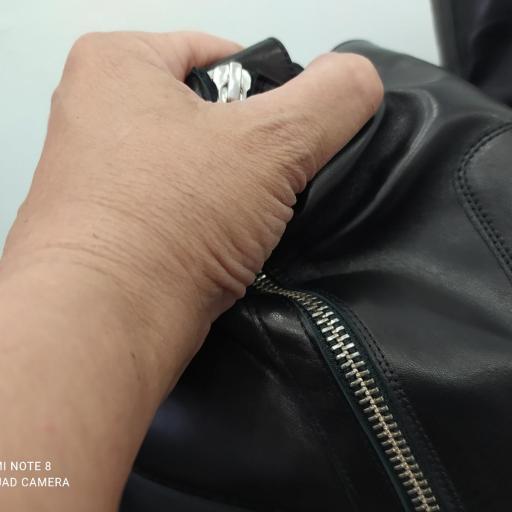 Botín tobillo extra ancho negro [2]