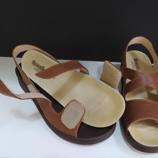 Sandalia plantillas marrón [1]