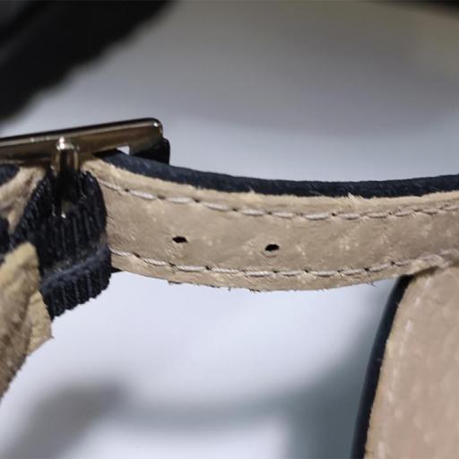 Sandalia hebillas negra [3]