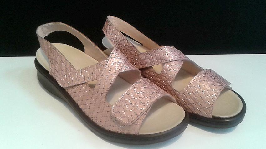 Sandalia plantillas rosa
