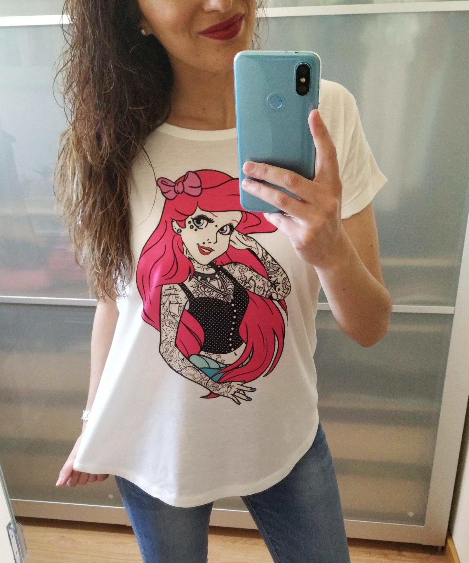 Camiseta Ariel Tattoo