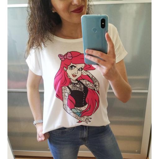 Camiseta Ariel Tattoo [1]