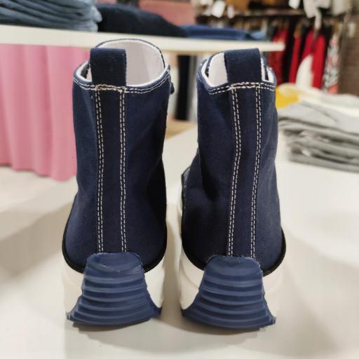 Botas Lona Azules [1]