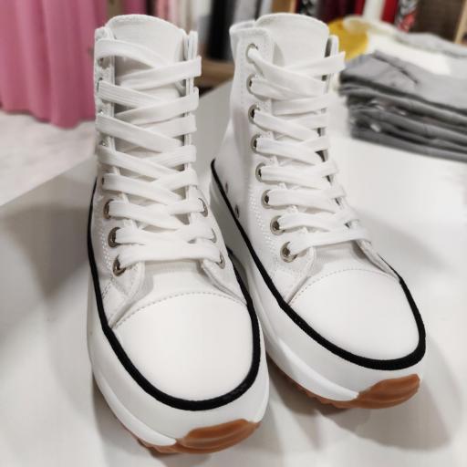 Botas Lona Blancas [3]