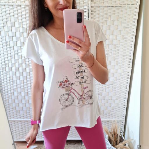 Camiseta Bici World [3]