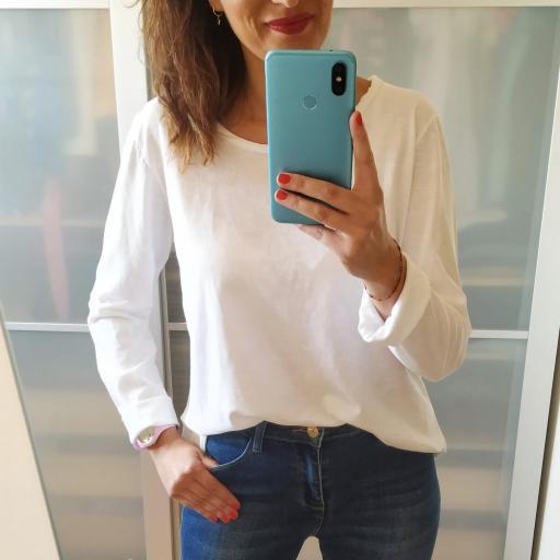 Camiseta Blanca Lisa [0]
