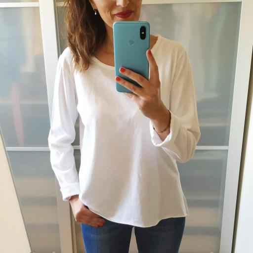 Camiseta Blanca Lisa [1]